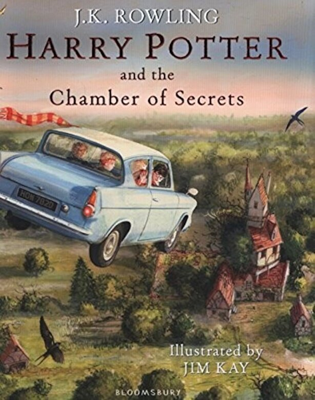 J.K. Rowling - Harry Potter and the Chamber of Secrets: Illustrated Edition -
