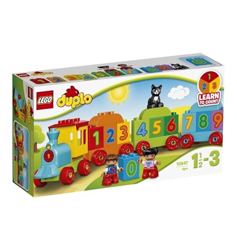 LEGO - LEGO DUPLO, Trenul cu numere 10847 -