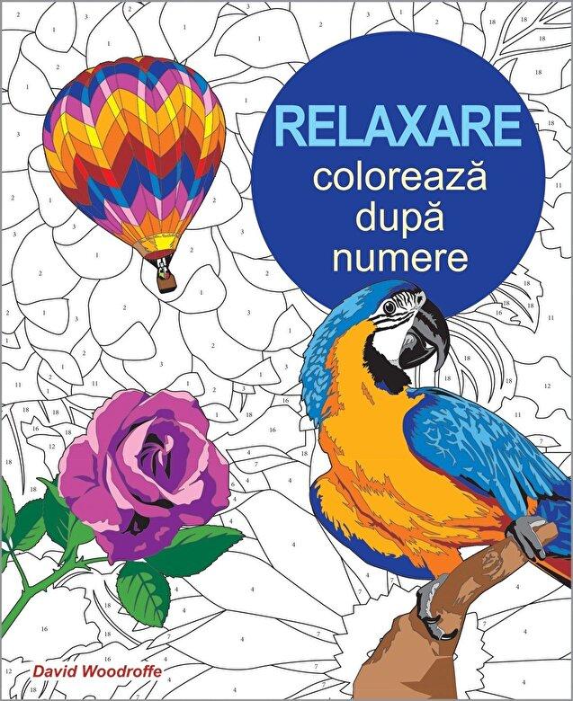 David Woodroffe - Relaxare - coloreaza dupa numere -