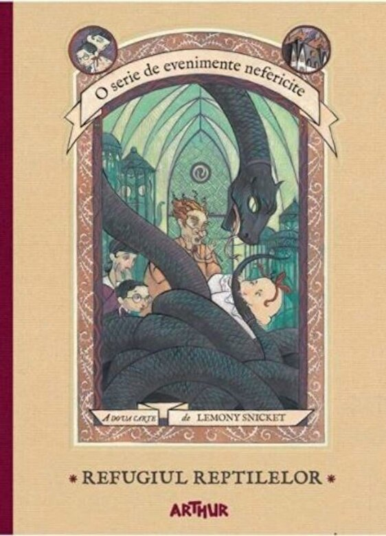 Lemony Snicket - O serie de evenimente nefericite II. Refugiul Reptilelor -