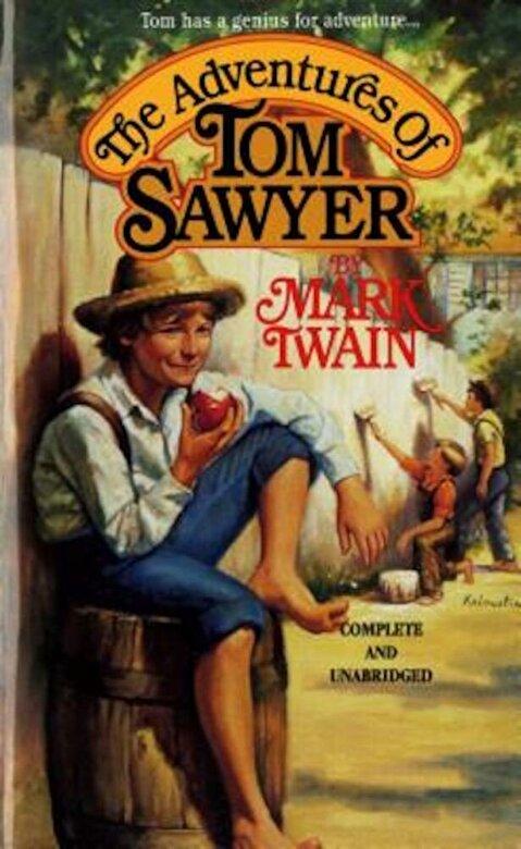 Mark Twain - The Adventures of Tom Sawyer, Paperback -