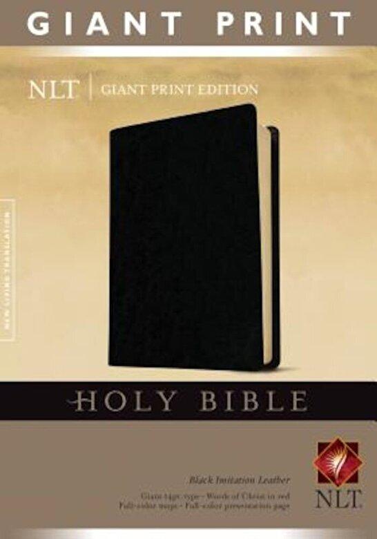 Tyndale - Giant Print Bible-NLT, Hardcover -