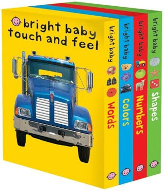 Roger Priddy - Bright Baby Touch and Feel: Words/Colors/Numbers/Shapes, Hardcover -