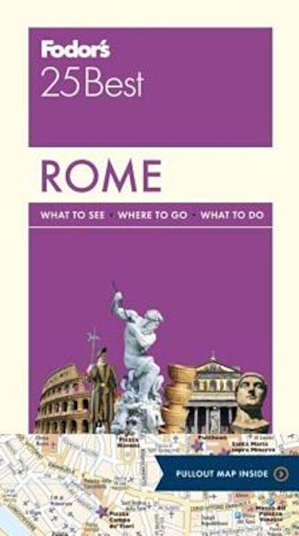 Fodor's Travel Guides - Fodor's Rome 25 Best, Paperback -