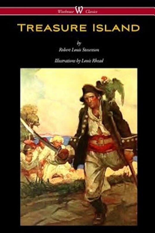 Robert Louis Stevenson - Treasure Island (Wisehouse Classics Edition - With Original Illustrations by Louis Rhead), Paperback -