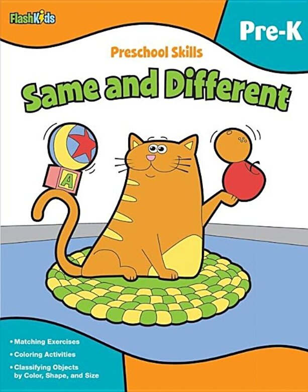 Flash Kids - Preschool Skills Same and Different, Paperback -