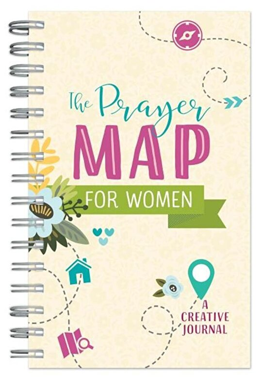 Compiled by Barbour Staff - The Prayer Map for Women: A Creative Journal, Paperback -
