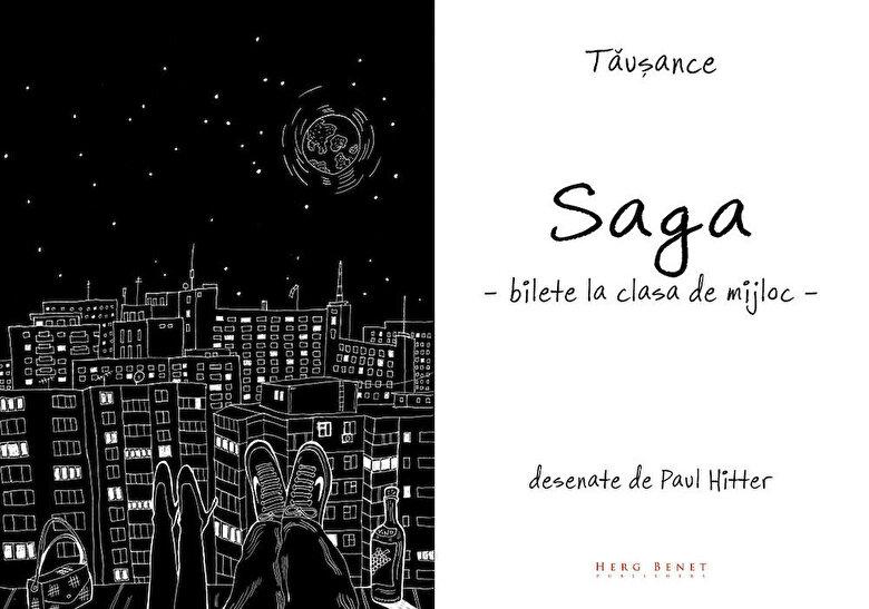 Vlad Ioan Tausance - Saga - Bilete la clasa de mijloc -