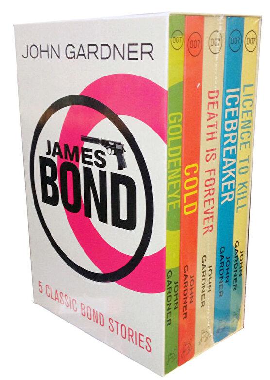John Gardner - James Bond Collection 5 Books Box Set 007 Classic Bond Stories -