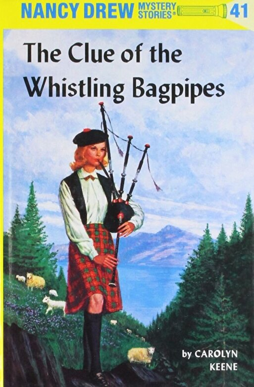 Carolyn Keene - Nancy Drew 41: The Clue of the Whistling Bagpipes, Hardcover -