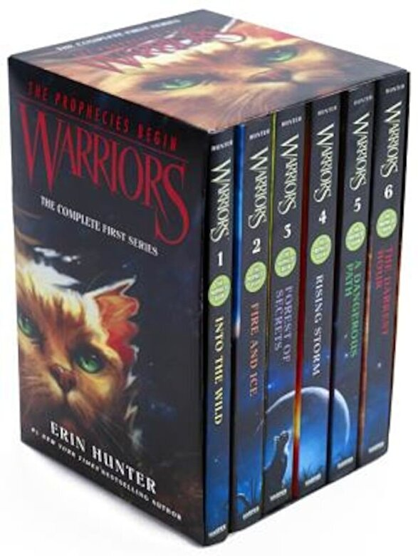 Erin Hunter - Warriors Box Set: Volumes 1 to 6: The Complete First Series, Paperback -