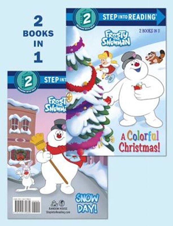 Courtney Carbone - A Colorful Christmas!/Snow Day! (Frosty the Snowman), Hardcover -