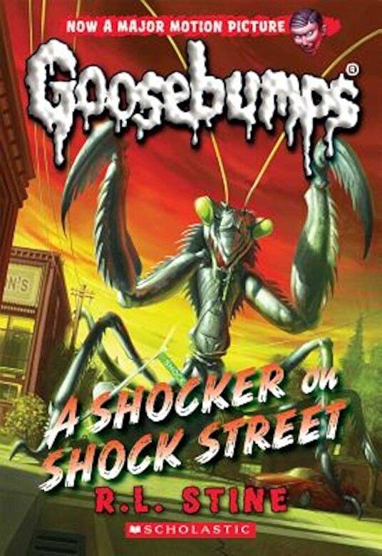 R. L. Stine - A Shocker on Shock Street (Classic Goosebumps #23), Paperback -