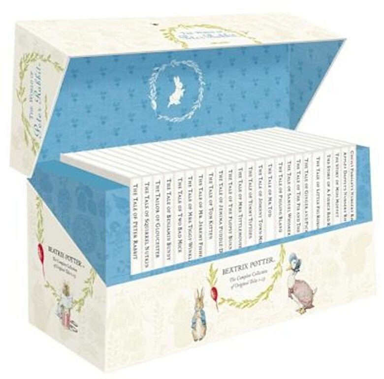 Beatrix Potter - The Original Peter Rabbit Presentation Box 1-23 R/I, Hardcover -