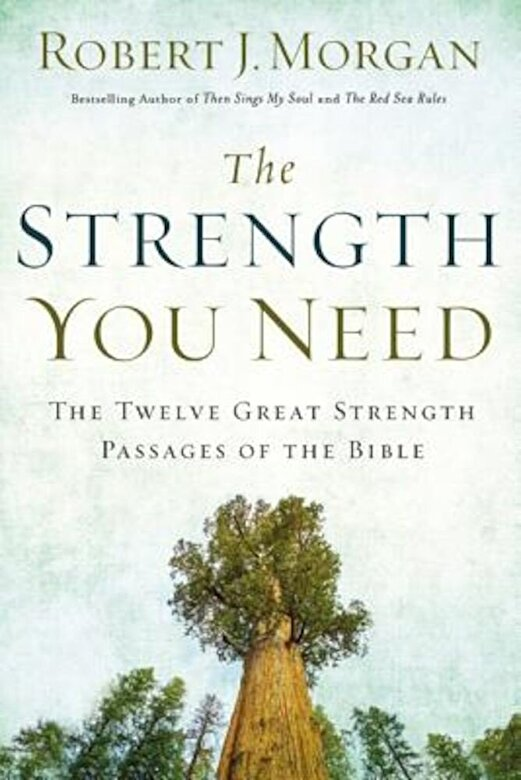 Robert Morgan - The Strength You Need: The Twelve Great Strength Passages of the Bible, Hardcover -