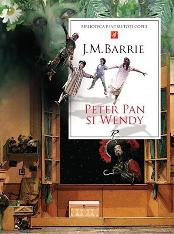 J. M. Barrie - Peter Pan si Wendy -