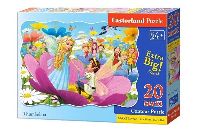 Castorland - Puzzle maxi Degetica, 20 piese -