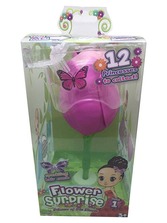 Flowers Surprise - Papusica Flower Surprise - Skylar, 18 cm -