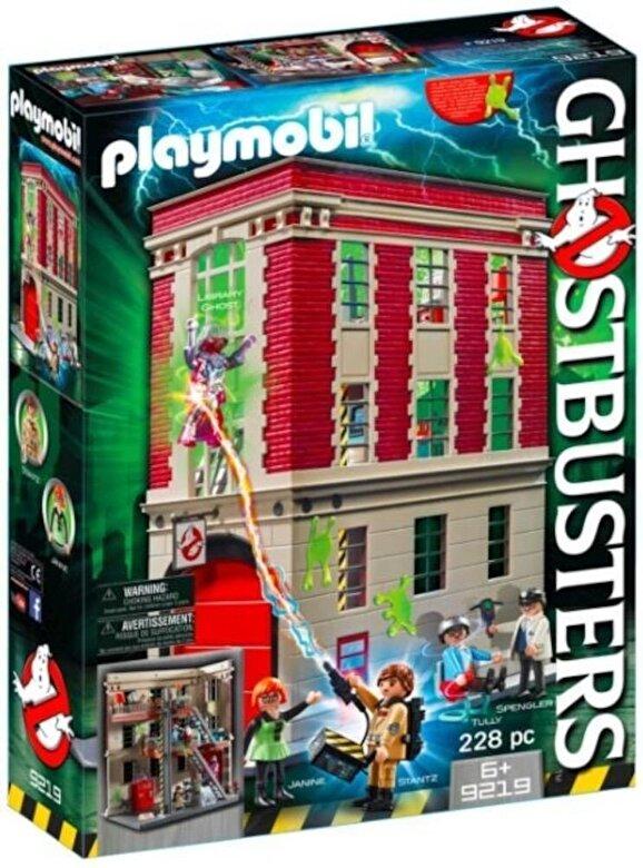 playmobil  playmobil ghostbusters sediul central