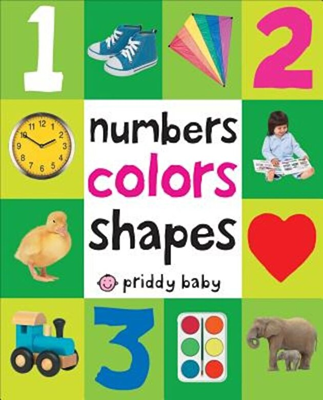 Roger Priddy - Numbers, Colors, Shapes, Hardcover -