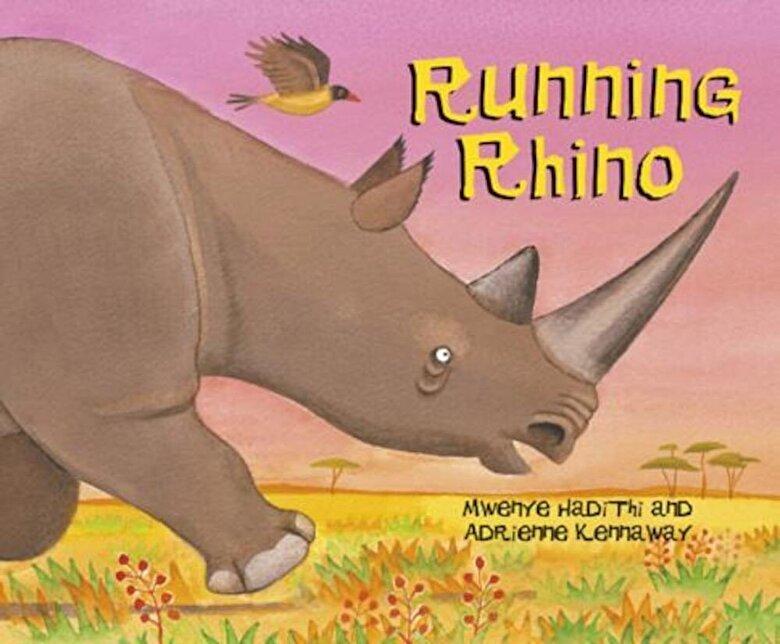 Mwenye Hadithi - Running Rhino, Paperback -