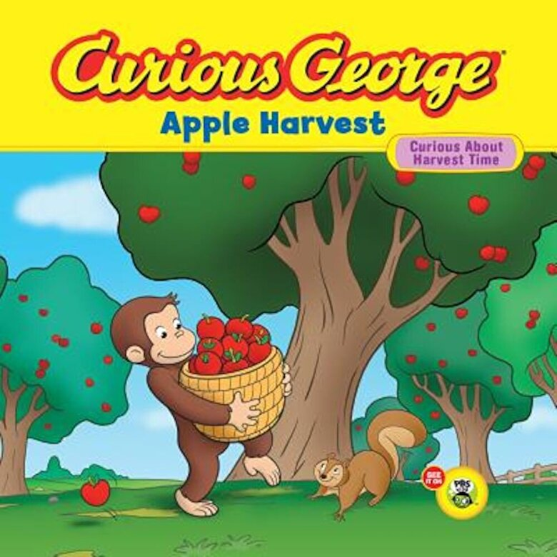 H. A. Rey - Curious George Apple Harvest, Paperback -