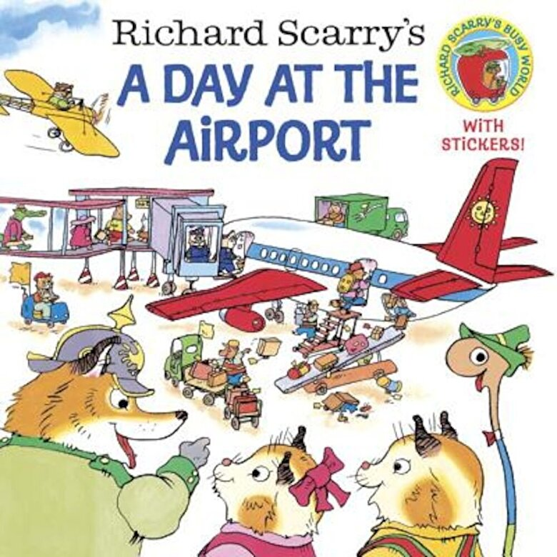 Richard Scarry - Richard Scarry's a Day at the Airport, Paperback -