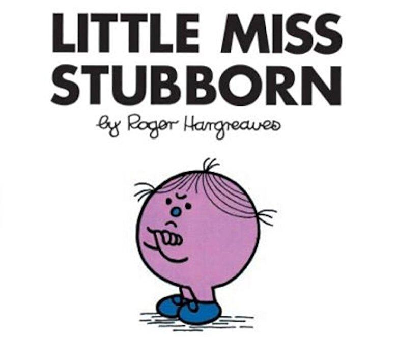 Roger Hargreaves - Little Miss Stubborn, Paperback -