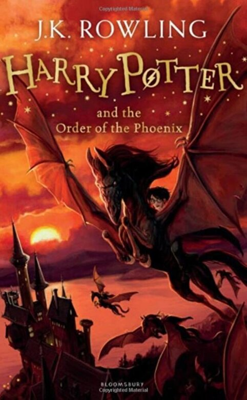 J.K. Rowling - Harry Potter and the Order of the Phoenix -