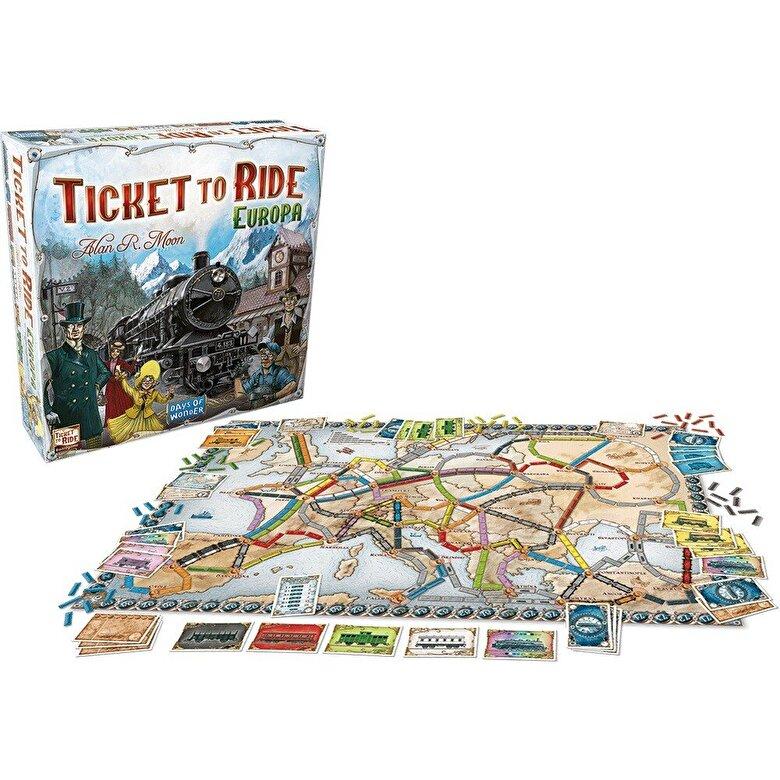 Days of Wonder - Joc Ticket to Ride Europa - limba romana -