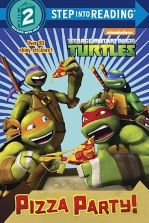Random House - Pizza Party! (Teenage Mutant Ninja Turtles), Paperback -