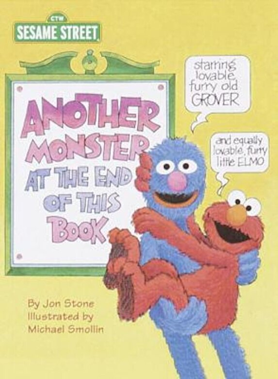 Jon Stone - Another Monster at the End of This Book (Sesame Street), Hardcover -