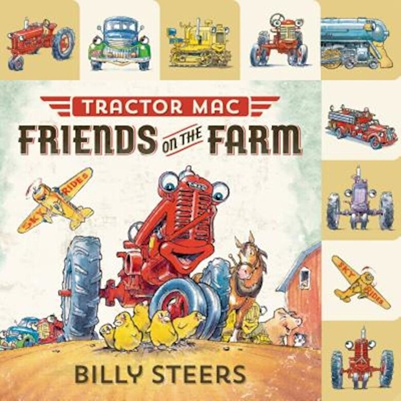 Billy Steers - Tractor Mac: Friends on the Farm, Hardcover -