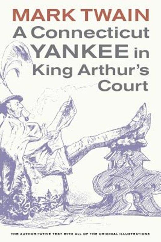 Mark Twain - A Connecticut Yankee in King Arthur's Court, Paperback -