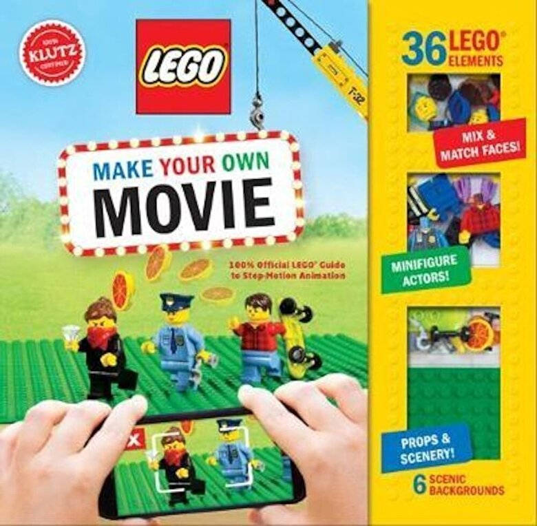 Pat Murphy - LEGO Make Your Own Movie, Hardcover -