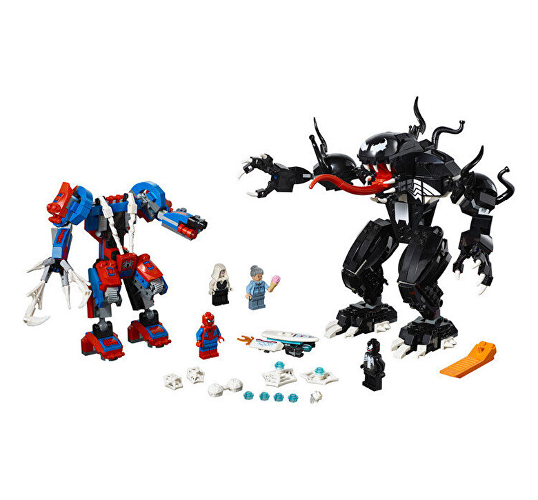 LEGO - LEGO Super Heroes, Robotul paianjen contra Venom 76115 -