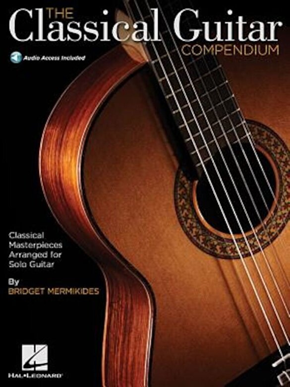 Bridget Mermikides - The Classical Guitar Compendium - Classical Masterpieces Arranged for Solo Guitar: Tablature Edition, Paperback -