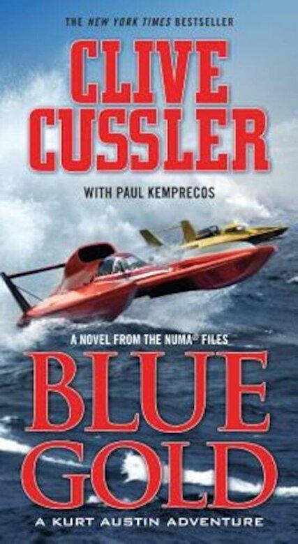 Clive Cussler - Blue Gold, Paperback -