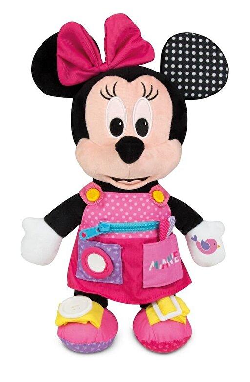 Clementoni - Jucarie interactiva plus Minnie Mouse - Invata primele abilitati -