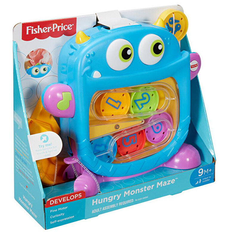 Fisher Price - Jucarie interactiva Fisher-Price Labirint Monstru infometat -