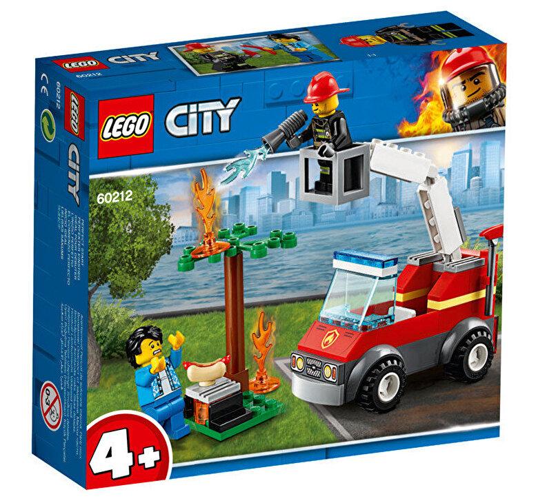 LEGO - LEGO City, Stingerea incendiului de la gratar 60212 -