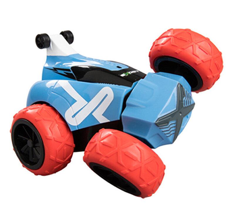 Silverlit - Masina cu telecomanda Exost R/C 1:34 Crazy XS, albastru-rosu -