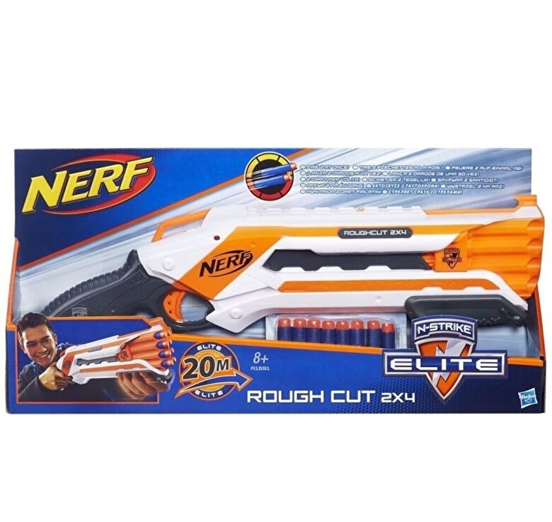 Nerf - Blaster Elite - Rough Cut -