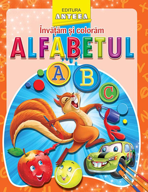 *** - Invatam si coloram alfabetul -