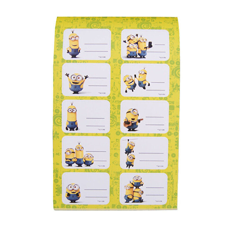 Minions - Notes cu 200 abtibilduri Minions -