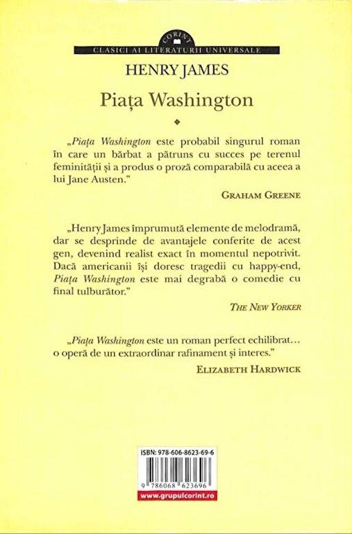 Henry James - Piata Washington -