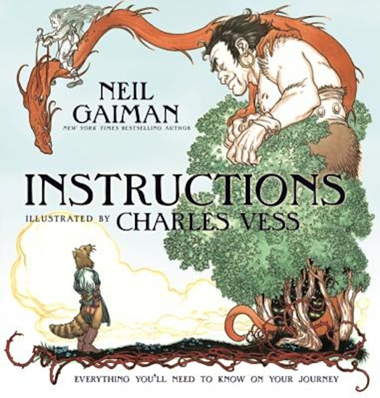 Neil Gaiman - Instructions, Hardcover -