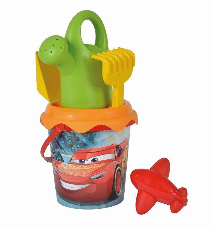 Smoby - Cars - Galetusa cu accesorii pentru plaja -