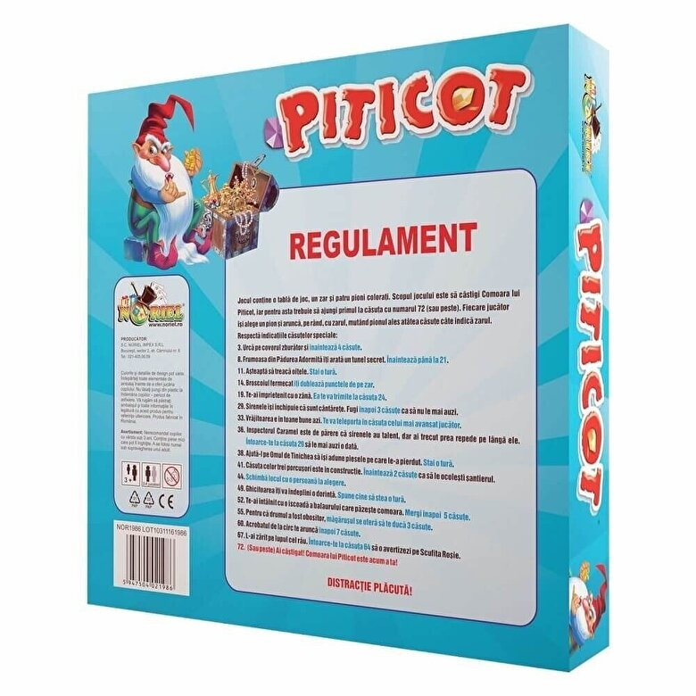 Noriel - Joc Comoara lui Piticot -