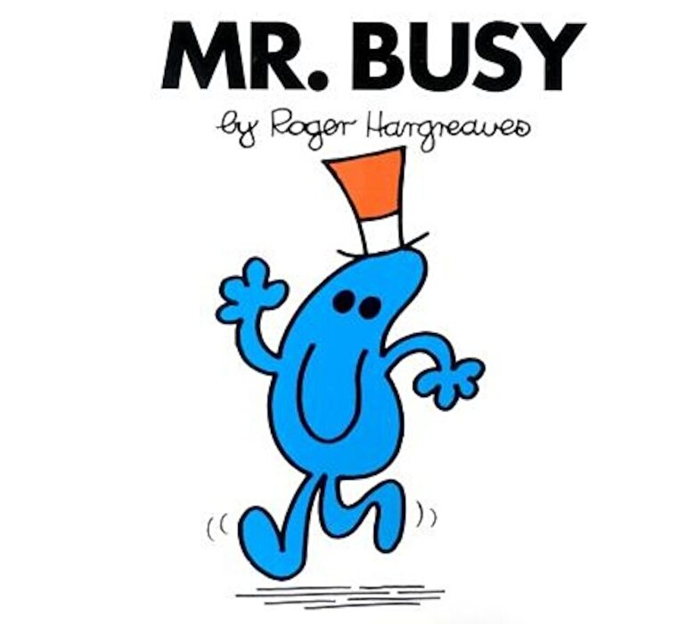 Roger Hargreaves - Mr. Busy, Paperback -